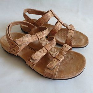 Vionic Amber Sandals Adjustable Arch Support